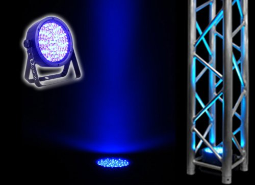 Chauvet EZ Par 56 LED Washlight With Built In Rechargeable Battery For Up To 20 Hours of Use - Reduces Setup and Take Down Time