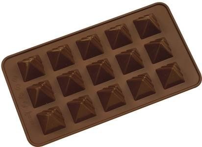 Silicone Chocolate Pyramids Moulds by Josef Strauss
