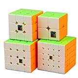 JIAAE Children Puzzle Rubik's Cube Professional Competition 2X2,3X3,4X4,5X5 Rubik Sets