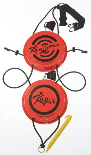Kick-Pan High Visibility Soccer Training Target (Orange, 10-Inch) by Kick-Pan