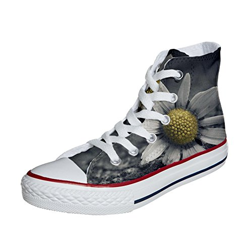 Converse All Star Hi Customized personalisierte Schuhe (Handwerk Schuhe) multi face