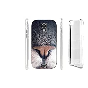 FUNDA CARCASA NASO GATTO PARA WIKO DARKNIGHT