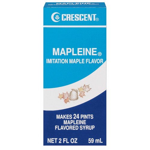 Crescent Mapleine Imitation Flavoring Bottle
