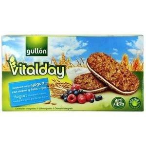 Gullón Vitalday, Galleta rellena con crema, Yogurt, Avena Y Frutos Rojos, 44 gr: Amazon.es: Alimentación y bebidas