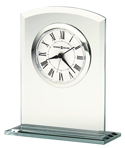 Silver Tone Desk Clock (Howard Miller Medina Clock)