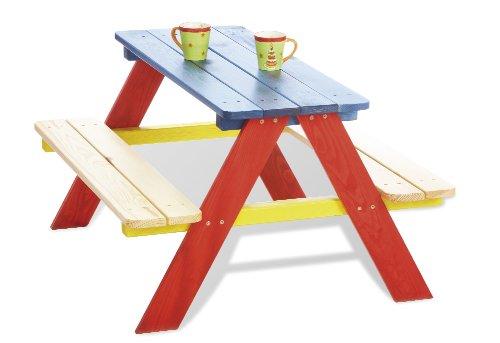 Pinolino - 201616 - Kindersitzgruppe Nicki - praktisches Sitzmöbel, Maße 90 x 79 x 50 cm