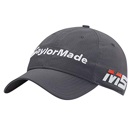- TaylorMade 2019 Litetech Tour Hat, Charcoal