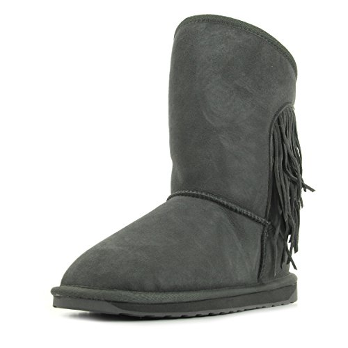 EMU Australia Woodstock Anthracite W11259CHARCOAL, Boots
