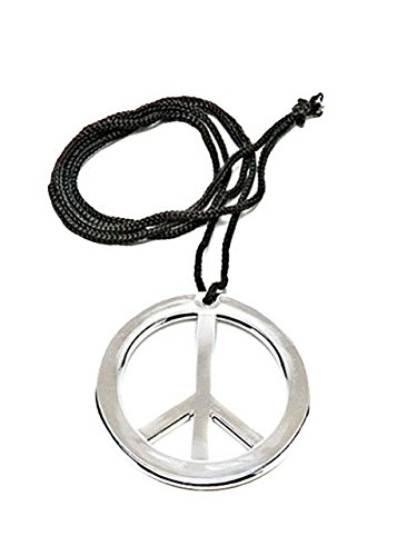 Rubie's Costume Co. Metal Peace Pendant, One Size, Multicolor ()