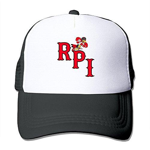 Baboy Rensselaer Polytechnic Institute Rug Baseball Hat Lightweight Mesh Snap Back (Samsung Galaxy Rug By)