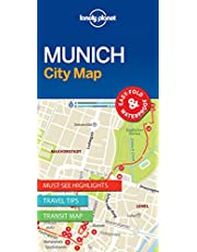 Lonely Planet Munich City Map 1 1st Ed.