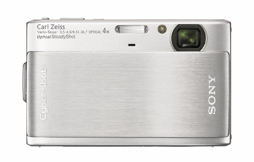 Amazon Sony Cyber Shot DSC TX1 10MP Exmor R CMOS Digital Camera With 3 Inch Touch Screen LCD Silver Point And Shoot Cameras