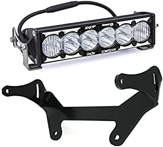 "product image for Baja Designs Can-Am Maverick X3 OnX6 Hybrid 10"" LED Light and Shock Mount Kit"