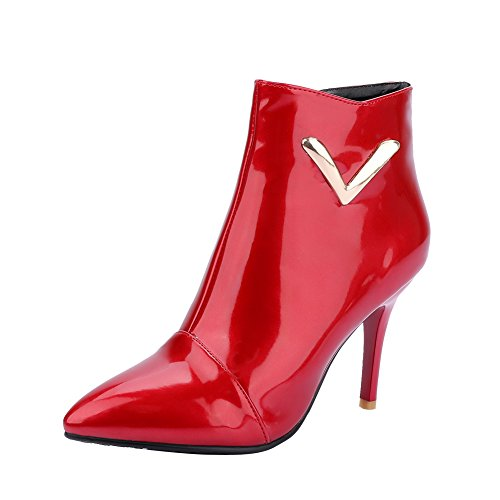 Pointed MissSaSa mit Ankle Toe Stiletto Rot heel Damen high Pumps Ct6wtAq