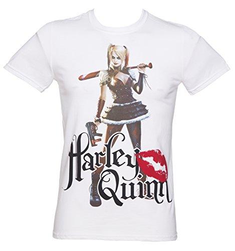 DC Herren T-Shirt weiß Bianco Medium