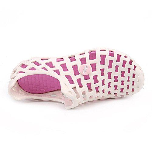 Non Longra Sandale Couple Casual Plage Rose Femmes Chaussures Tongs slip Respirant Hommes Unisexe qqvZB
