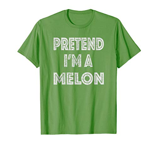 Retro Pretend I'm a Melon Halloween Costume T-Shirt for $<!--$16.89-->