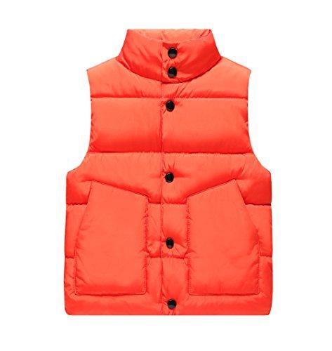 Waistcoat Vest Down (Genda 2Archer Boys Puffer Vest Down Waistcoat Jacket(3-4 Years))