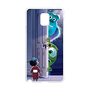Monsters, Inc Samsung Galaxy Note 4 Cell Phone Case White JD7684812