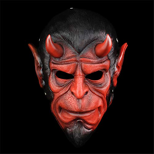 TTXST Halloween Mask Resin Masks Collector's Edition Character Mask Horror COS Dress Up Animal Vibrating Headgear Mask Costume Fancy Dress Party Prop Props Supplies