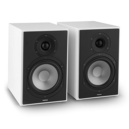 NUMAN Reference 802 Two-Way Shelf Speaker Pair Battery (16.5cm Woofer, 120W...