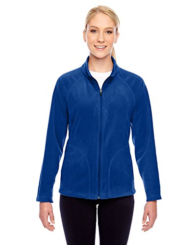 (Team 365 Ladies Campus Microfleece Jacket, Sport Royal, Small)