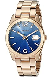 Fossil Women's ES3780 Perfect Boyfriend Rose Gold-Tone Stainless Steel Watch