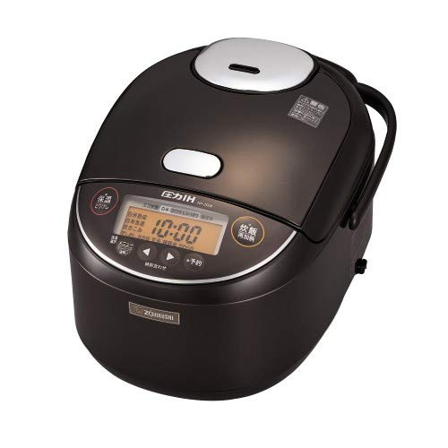 象印 1升炊き 炊飯器 圧力IH炊飯ジャー 極め炊き NP-ZG18-TD ダークブラウン   B07FR9DMHY