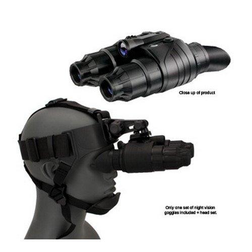 Pulsar PL75095 Edge GS Super 1+ 1x20 Night Vision Goggle, 1x Magnification, 20mm Lens Diameter, 27mm Lens Focus, 1:1.35 Relative Aperture, 36° Field of View