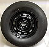 New 17 Inch 5 on 5.5 Dodge Ram 1500 Steel Wheels Mounted With 265 70 R17 Atturo Tire WE5122N