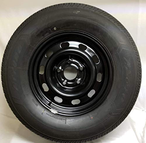 New 17 Inch 5 on 5.5 Dodge Ram 1500 Steel Wheels Mounted With 265 70 R17 Atturo Tire WE5122N (Dodge Truck 17 Rims)