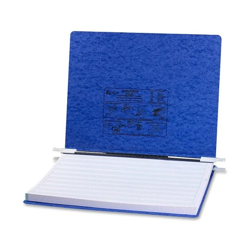Wholesale CASE of 20 - ACCO 14-7/8''x11'' Presstex Data Binders w/Stg Hooks-Data Processing Binder, 6'' Cap, 14-7/8''x11'', Dark Blue
