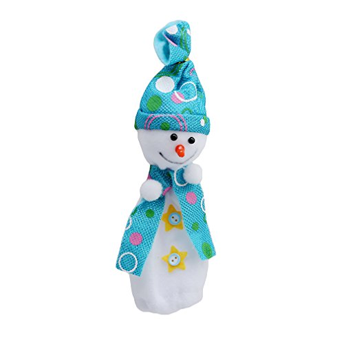 ULAKY Christmas Snowman Doll Apple Gift Bag Home Party Decoration