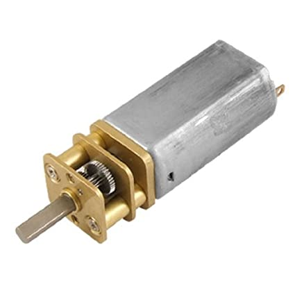 Amazon.com: DealMux DC 12V 0.07A 100 rpm High Torque Gear Box Reduzir Motor para DIY Brinquedos: Automotive