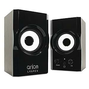 Arion Legacy AR302 AC Powered 2.0 Desktop Speakers 12 Watts Retail Pack