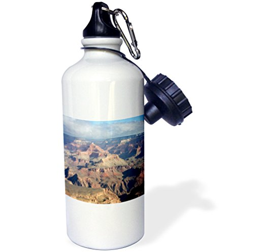 South Rim View Of The Grand Canyon, Arizona Sports Water Bottle