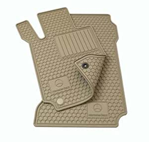 Genuine mercedes benz all season floor mats for Mercedes benz e350 floor mats
