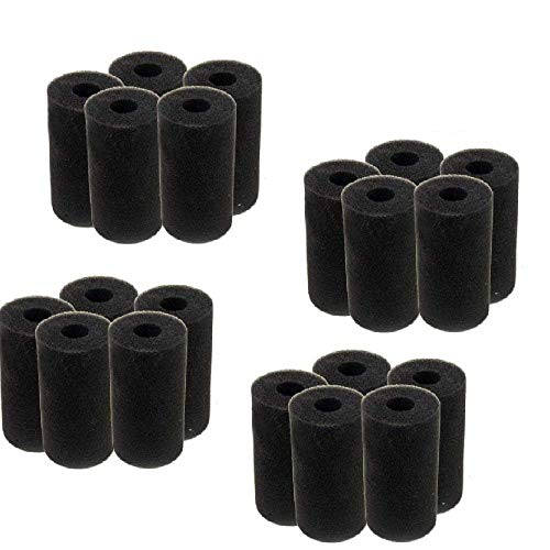 Filter Pre Block - Hamiledyi Pre-Filter Sponge/Foam Set for Fluval Edge Aquarium Sweep Hose Tail Scrubbers Replacement for Sweep Pool Cleaner Fits Polaris Pool Cleaner Backup Filter Parts(Pack of 20,4 Sizes)