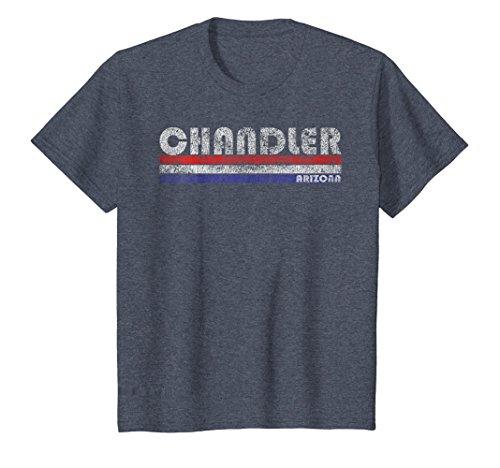Kids Vintage Chandler AZ Throwback T-Shirt 12 Heather (Chandler Throw)