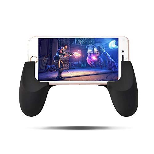 Mobile Game Grip, SIKSIN Universal Game Controller Grip Phone Gamepad with Holder Stand, Assemblable Game Clutch Handle Holder For iPhone/Samsung/Tablet/Smartphone Get Rid of Cramp Up
