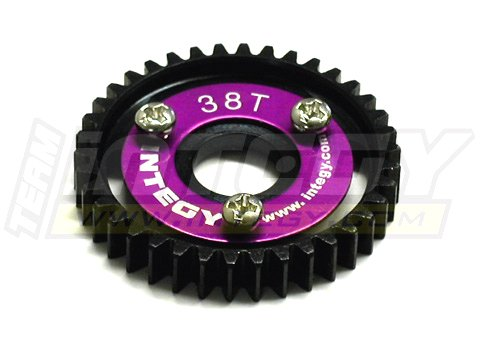 - Integy RC Model Hop-ups T3180 38T Steel Spur Gear for 1/10 Revo & Slayer(both)