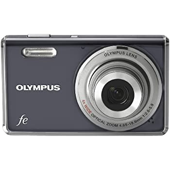 Olympus FE-4000 12MP Digital Camera with 4x Wide Angle Optical Zoom and 2.7 inch LCD (Dark Grey)