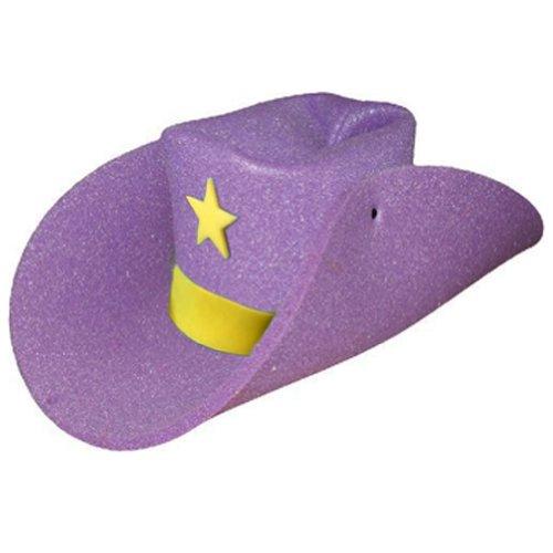 Clown Antics Super Size 50 Gallon Cowboy Hats - Purple (28