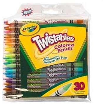 Crayola Twistables 30 Ct Colored Pencils By Crayola Llc