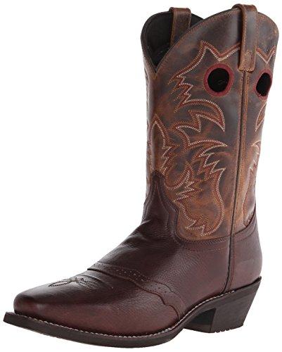 Laredo Men's Pequin Western Boot - Brown - 7 D(M) US
