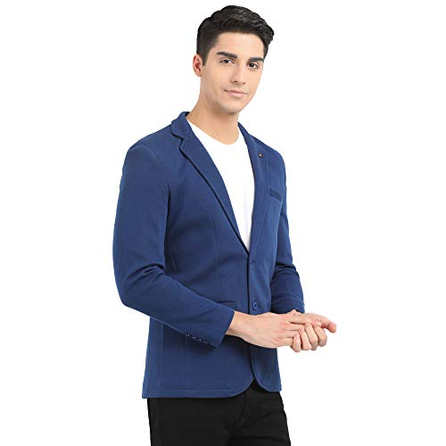41MQU%2ByWr2L. SS500  - M 27 Men's Cotton Blazer