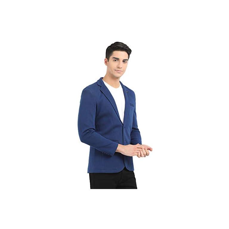 41MQU%2ByWr2L. SS768  - M 27 Men's Slim Fit Casual Blazer (11 Colors)