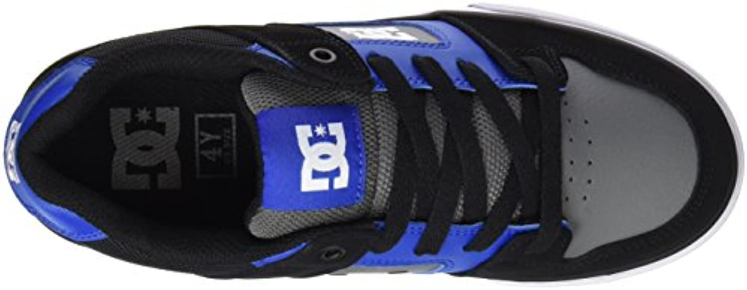 DC Shoes Boys' Pure Low-Top Sneakers Blue Size: UK 2.5