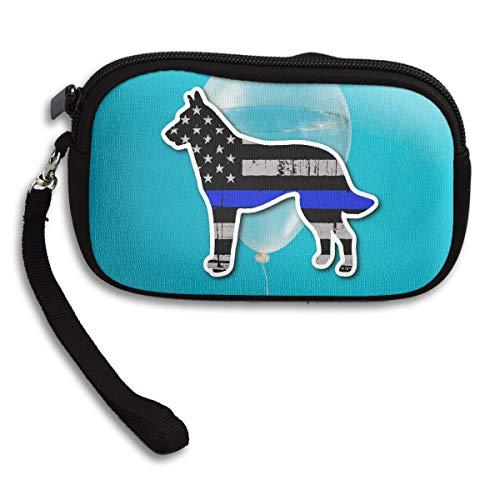 Dog Blue K9 Purse Bag Line Small Receiving Printing Portable Deluxe EHERPrq