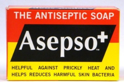 (10 Dozen) Asepso Antibacterial Agent Soap 3.2 Oz by Asepso